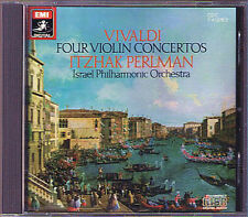 Itzhak PERLMAN: VIVALDI 4 Violin Concerto Il sospetto RV 199 317 346 357 EMI CD