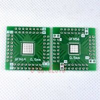 5pcs NEW QFN64 QFN56 to DIP 56 Adapter PCB Board Converter Double Sides DIY F14