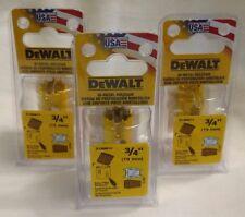 "DeWalt D180012 3/4"" Bi-Metal Hole Saw MADE IN THE USA Lot of 3"