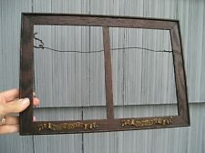Antique Unusual Art Crafts Cupid Awake Cupid Asleep Picture Frame Double 6 x 8