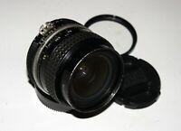 RARE MF Nikon Nikkor 24 mm F/2.0 Ai Wide Angle Lens for Nikon SLR cameras GREAT!