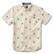 "Vans x Marvel Houser Super Hero Button Up Short Sleeve Boys SZ S New ""Sold Out"""