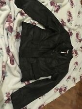 Next Ladies Petite Leather Jacket 8 BNWT
