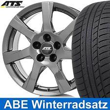 """16"""" ABE Winterräder ATS Twister Dunkel Grau 205/55 für VW Cross Touran 1T, 1t"""