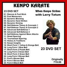 KENPO KARATE Training Series 23 dvd set striking kicking mma panther productions