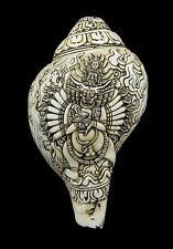 Conque tibetaine Yamataka-Dungdkar-Instrument de musique Tibet -conch 1194