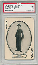 1916 MJ Moriarty CHARLIE CHAPLIN Rookie (RC) PSA 7 Pop.1 highest graded [BBE]