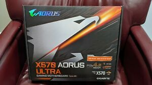 GIGABYTE X570 AORUS ULTRA AMD Ryzen 3000 PCIe 4.0 SATA 6Gb/s USB 3.2 AMD X570 AT