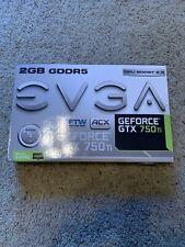 EVGA GeForce GTX 750Ti FTW ACX 2GB GDDR5 Graphics Card