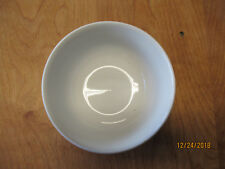 "Pottery Barn DU JOUR CAFEWARE WHITE Bowl  6"" All White Smooth 1 ea"