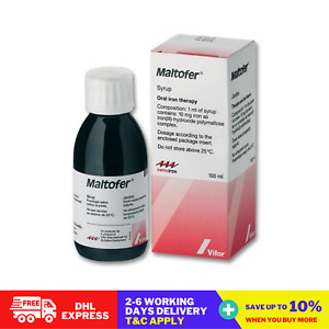 150ML Maltofer Syrup Oral Iron Therapy Expedite Shipping