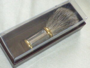 Stylish BADGER BRISTLE SHAVING BRUSH, Unused