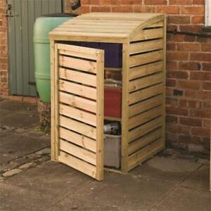Bin Box Recycling Store Pressure Treated