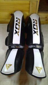 RDX Shin Instep Protector Guard Taekwondo Muay Thai MMA Leg Support Foot Pad NEW