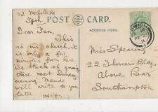 Miss Fan Spearing Thorners Buildings Above Bar Southampton 1911 421a