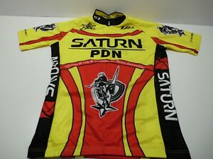 Louis Garneau Saturn PDN Jersey Size Small Made in Canada Like New Quebec Team
