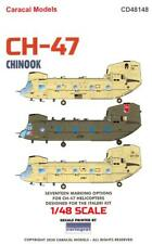 Caracal Decals 1/48 Boeing Ch-47 Chinook Helicopter