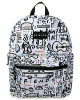 "FRIENDS Backpack TV Show Sitcom Series Central Perk School Bag Comic 16"" NEW NWT"