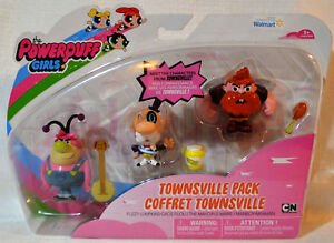 PowerPuff Girls  Action Figure Coffret Townsville FREE US Shipping