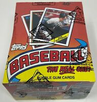 1988 TOPPS MLB Baseball Card BOX 36 Unopened Wax PACKS Sealed BBCE Wrapped