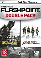OPERATION FLASHPOINT DOUBLE PACK Dragon Rising + Red River PC NEUF