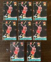 1992-93 FLEER ULTRA MICHAEL JORDAN DUNK RANK #216 LOT OF 8 CARDS, LAST DANCE