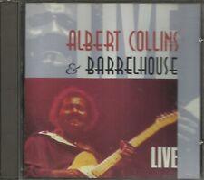 Albert Collins & Barrelhouse  - Live (CD1990 Munich Records) $0.99 Shipping U.S
