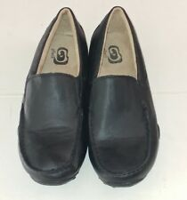 The Childrens Place Boys Formal Slip-On Loafers Dress Shoes Black Toddler Size 4