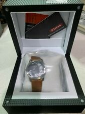 TITAN EDGE Quartz SLIM DIAL Watch for Men Brown Band Model NEW