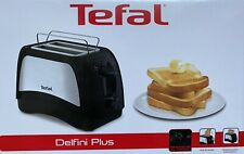TEFAL TT131D16 Delfini Plus Zweischlitztoaster Toaster Brötchenaufsatz 850 Watt