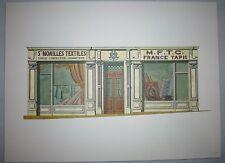 Illustration Noailles Textiles Tapis à Marseille - Portfolio sur la ville