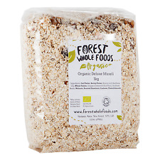 Organic Deluxe Muesli 1kg - Forest Whole Foods