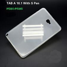 "TPU Gel Rubber Soft Skin Case Cover F 10.1"" Samsung Galaxy Tab A P580 P585 2016"