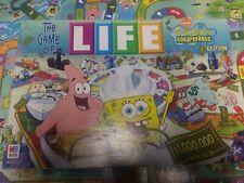 The Game of Life Board Game - 2005 MB SpongeBob SquarePants - Collector!