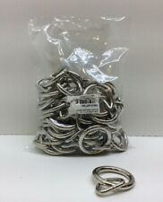 "Welded Loop & Ring 3/4"" x 1 1/4"" 50 Pack"