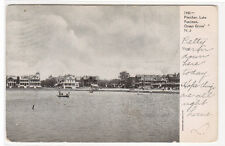 Fletcher Lake Pastimes Ocean Grove New Jersey 1907c postcard