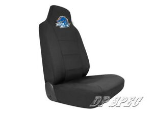 BSU BOISE STATE UNIVERSITY BRONCOS NCAA NEOPRENE SEAT COVER FOR CHEVY