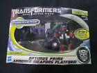 Transformers Dark Of The Moon DOTM Optimus Prime Armored Weapons Platform MISB