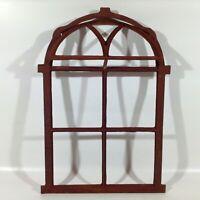 750A  Antik Stallfenster Gusseisen Eisenfenster Scheunenfenster Gartengestaltung