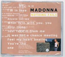 MADONNA NOTHING FAILS CD SINGLE SIGILLATO!!!