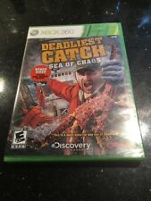 Deadliest Catch: Sea of Chaos (Microsoft Xbox 360, 2010) Brand New Sealed