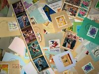 STAMP JAPAN 1000g random set ON paper lot philatelic collection kiloware