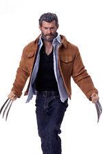 12'' Full Set Wolverine Male Figure 1/6 Old Logan Head Body Paw&Clothing Model