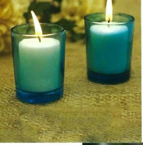 """1-""""Premium"""" Brand Votive Holder-& 1-Votive Candle In This Deal~3~Colors"""