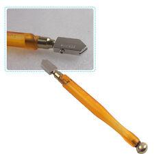 Diamond Glass Cutting Tool, Antislip Handle Steel Blade Glass Cutter Cutting Pen