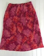 Express Women's Size XS Floral Pencil Straight Skirt elastic waist lined x16
