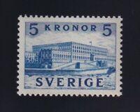 Sweden Sc #332a (1941) 5k blue Stockholm Royal Palace Mint VF NH MNH