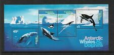 1995 Whales & Dolphins Mini Sheet Complete MUH/MNH as Issued