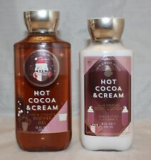Bath & Body Works Hot Cocoa & Cream Body Lotion & Shower Gel