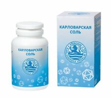 Karlovy Vary Carlsbad salt, Geyser Mineral drinking Salz, Food supplements DENAS